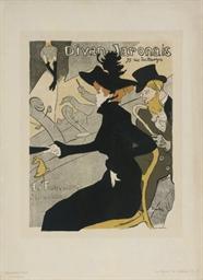 Toulouse lautrec henri de 1864 1901 divan japonais for Divan japonais poster value