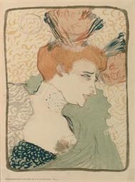 Henri de toulouse lautrec 1864 1901 mademoiselle - Mademoiselle marcelle ...