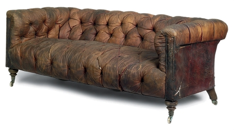 late victorian chesterfield sofa by howard and son late 19th