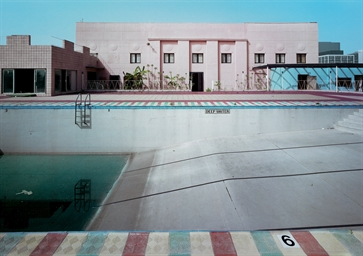 Robert polidori b 1951 ambassador hotel swimming pool - Best hotel swimming pools in los angeles ...