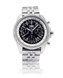 Breitling bentley motors special edition stainless steel for Breitling watches bentley motors special edition a25362