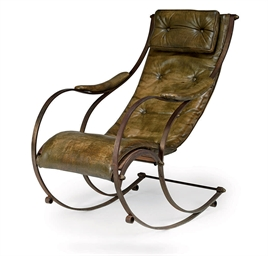 A Steel Rocking Chair After A Design By R W Winfield Birmingham First Half Th Century Christies