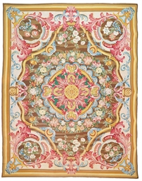 An Arraiolos Carpet Portugal Circa 1960 Possibly