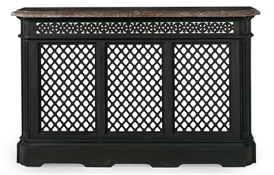 A late victorian cast iron radiator cover late 19th - Cast iron radiator covers ...