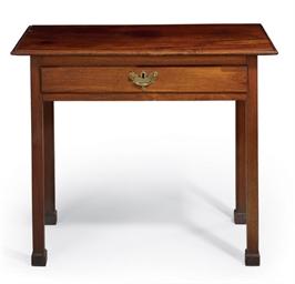 A chippendale mahogany side table philadelphia circa for Furniture r us philadelphia