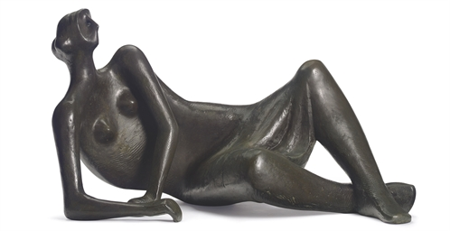 reclining female figure essay