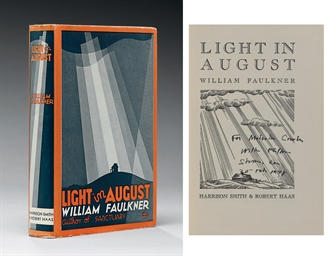 an analysis of metaphor in light in august by william faulkner In light in august, faulkner shows us a world where social codes are rigid, inflexible, immutable, unspoken, and bear absolutely no relation to the concrete reality of the phenomenal, external world they pretend to govern it's the primal sin of the plantation system, which paradoxically separated and.