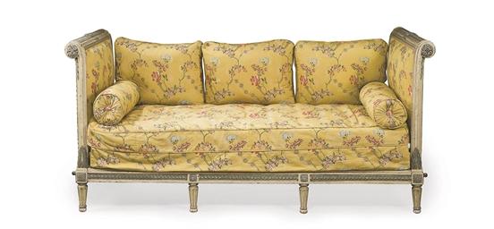lit formant banquette d 39 epoque louis xvi dernier quart du xviiieme siecle christie 39 s. Black Bedroom Furniture Sets. Home Design Ideas