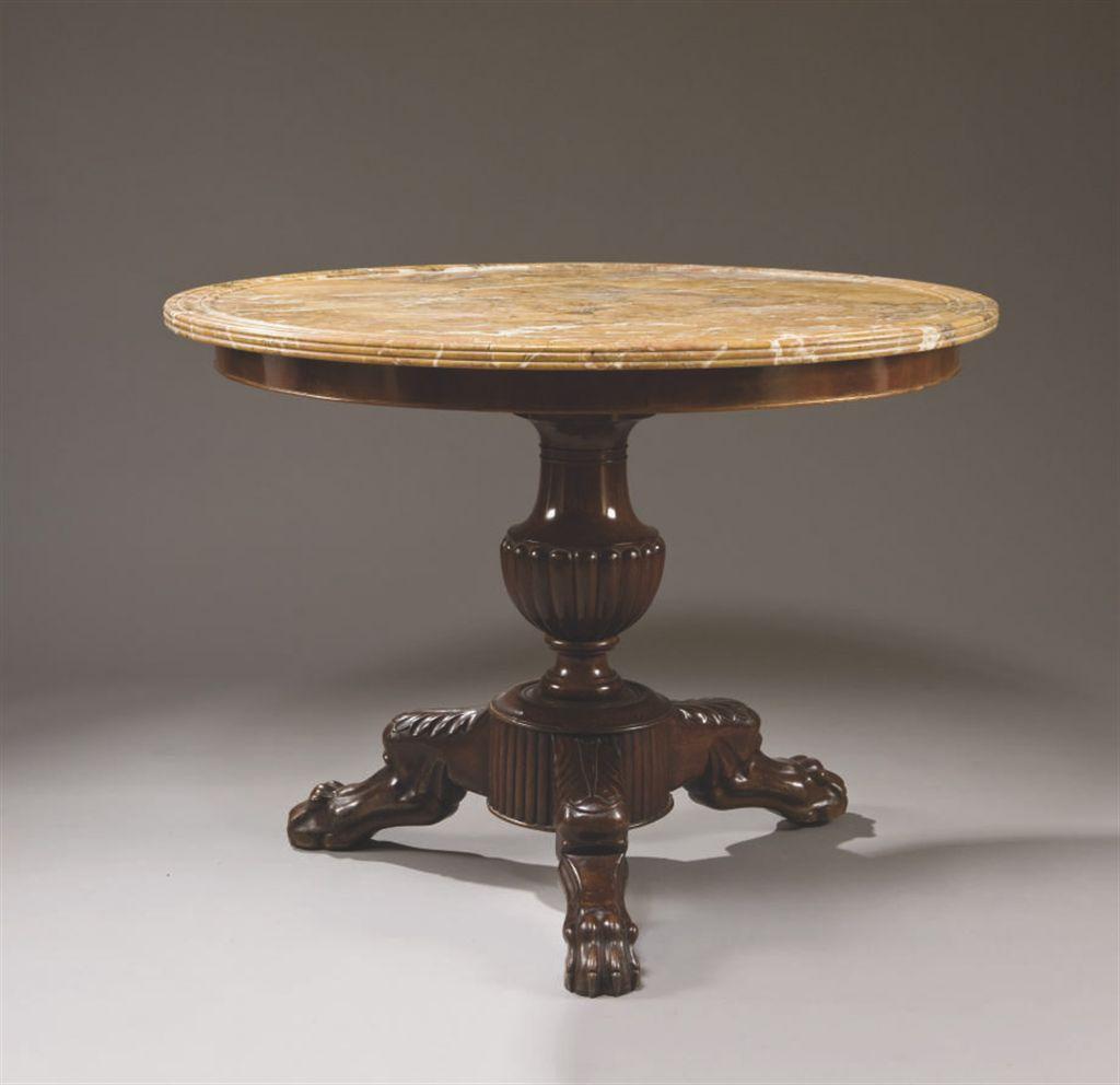gueridon d 39 epoque louis philippe vers 1840 christie 39 s. Black Bedroom Furniture Sets. Home Design Ideas