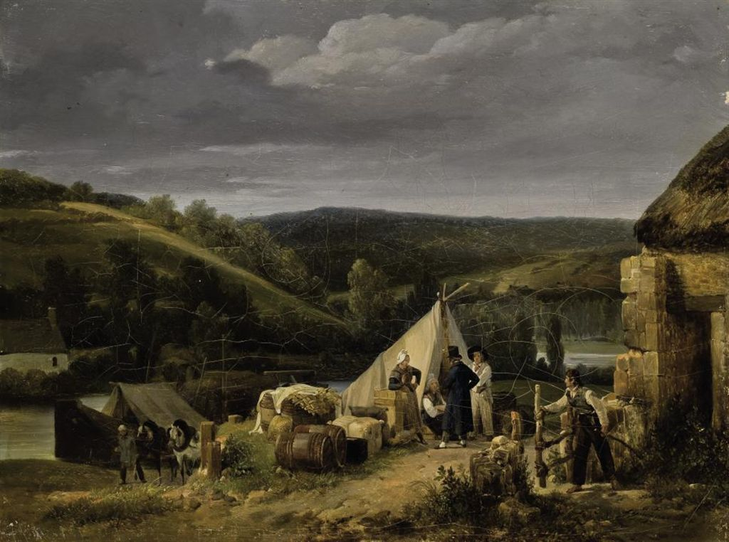 Auguste xavier leprince paris 1799 1826 nice sc ne de for En milieu rural