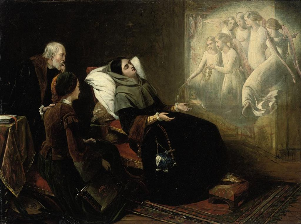 Henry Nelson O Neil 1817 1880 Catherine S Dream