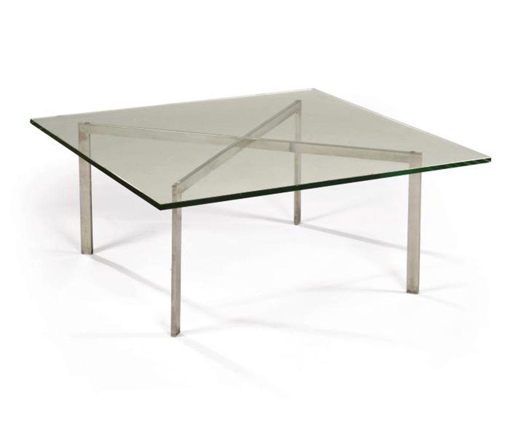 ludwig mies van der rohe 1886 1969 table basse. Black Bedroom Furniture Sets. Home Design Ideas