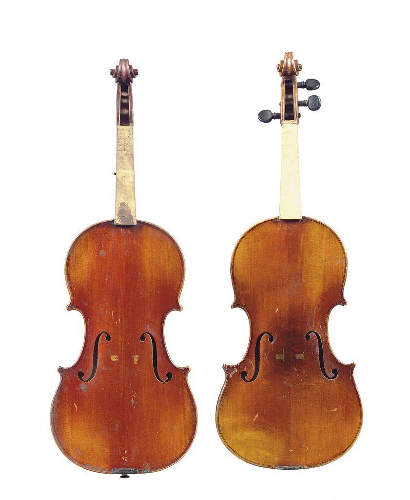Two violins france christie 39 s Vibeline