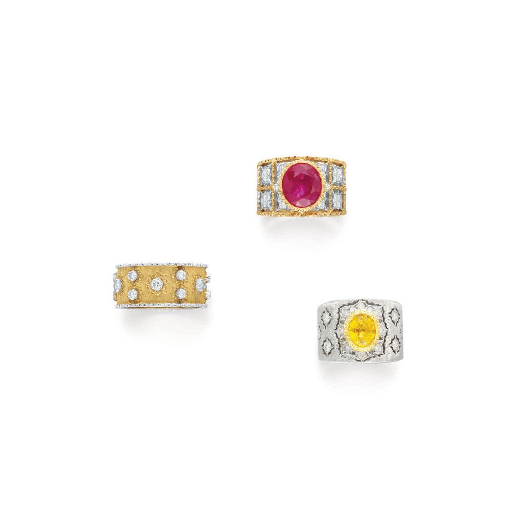 Buccellati Rings At Upcoming Auctions