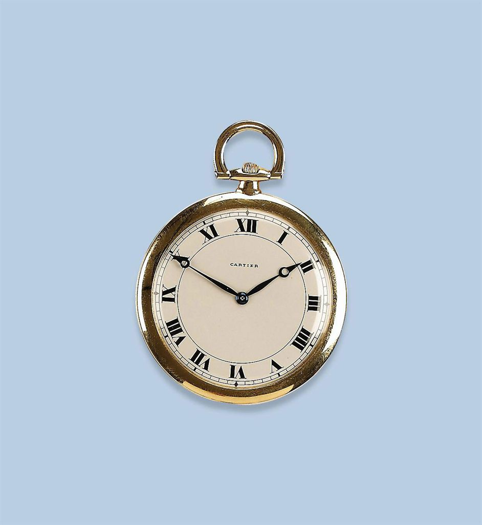 an 18k yellow gold dress pocket by cartier christie s