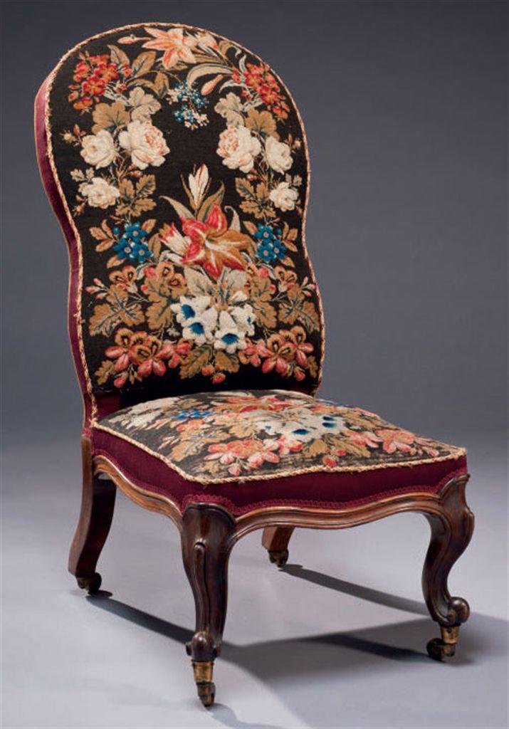 chauffeuse d 39 epoque victorienne vers 1840 christie 39 s. Black Bedroom Furniture Sets. Home Design Ideas