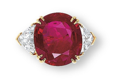 A Ruby And Diamond Ring By Harry Winston Christie S