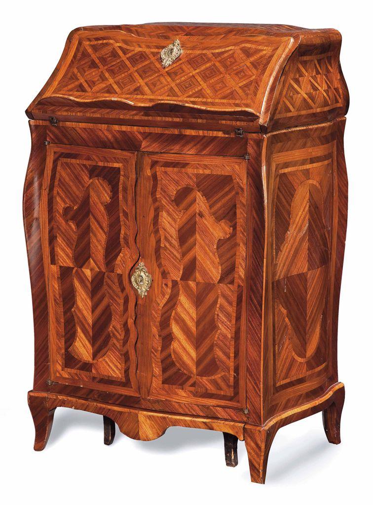 meuble a transformation d 39 epoque louis xv estampille de pierre ii migeon milieu du xviiieme. Black Bedroom Furniture Sets. Home Design Ideas