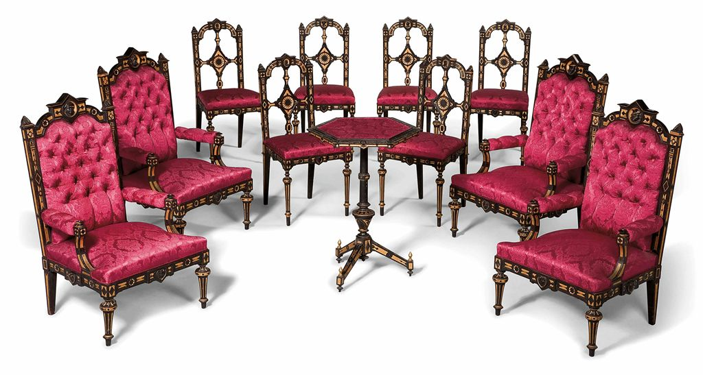 mobilier de salon d 39 epoque napoleon iii seconde moitie du xixeme siecle christie 39 s. Black Bedroom Furniture Sets. Home Design Ideas