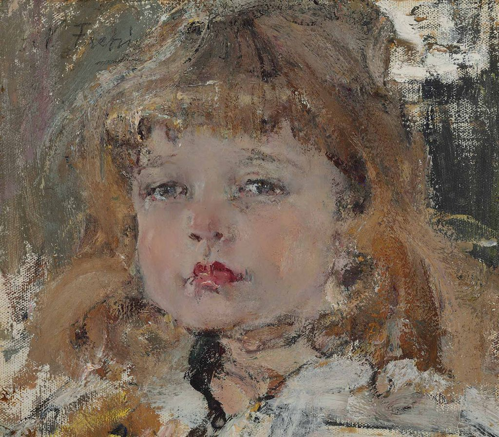 Nicolai fechin 1881 1955 young girl christie 39 s for Nicolai fechin paintings for sale