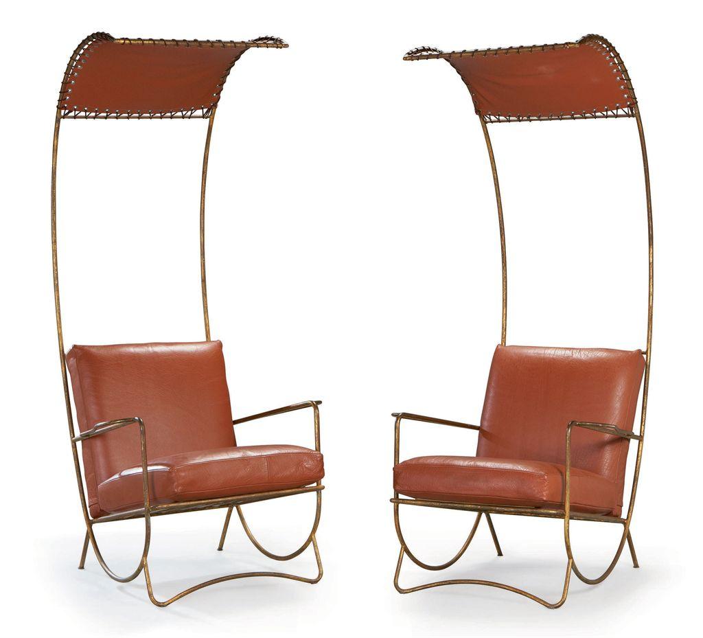 jean royere 1902 1981 paire de fauteuils 39 shah d 39 iran 39 vers 1958 christie 39 s. Black Bedroom Furniture Sets. Home Design Ideas