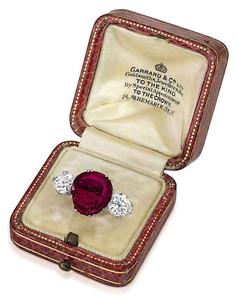 An Important Antique Ruby And Diamond Ring Christie S