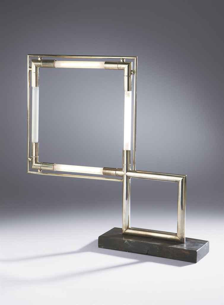 jacques adnet 1900 1984 pour la compagnie des arts fran ais lampe poser vers 1928. Black Bedroom Furniture Sets. Home Design Ideas
