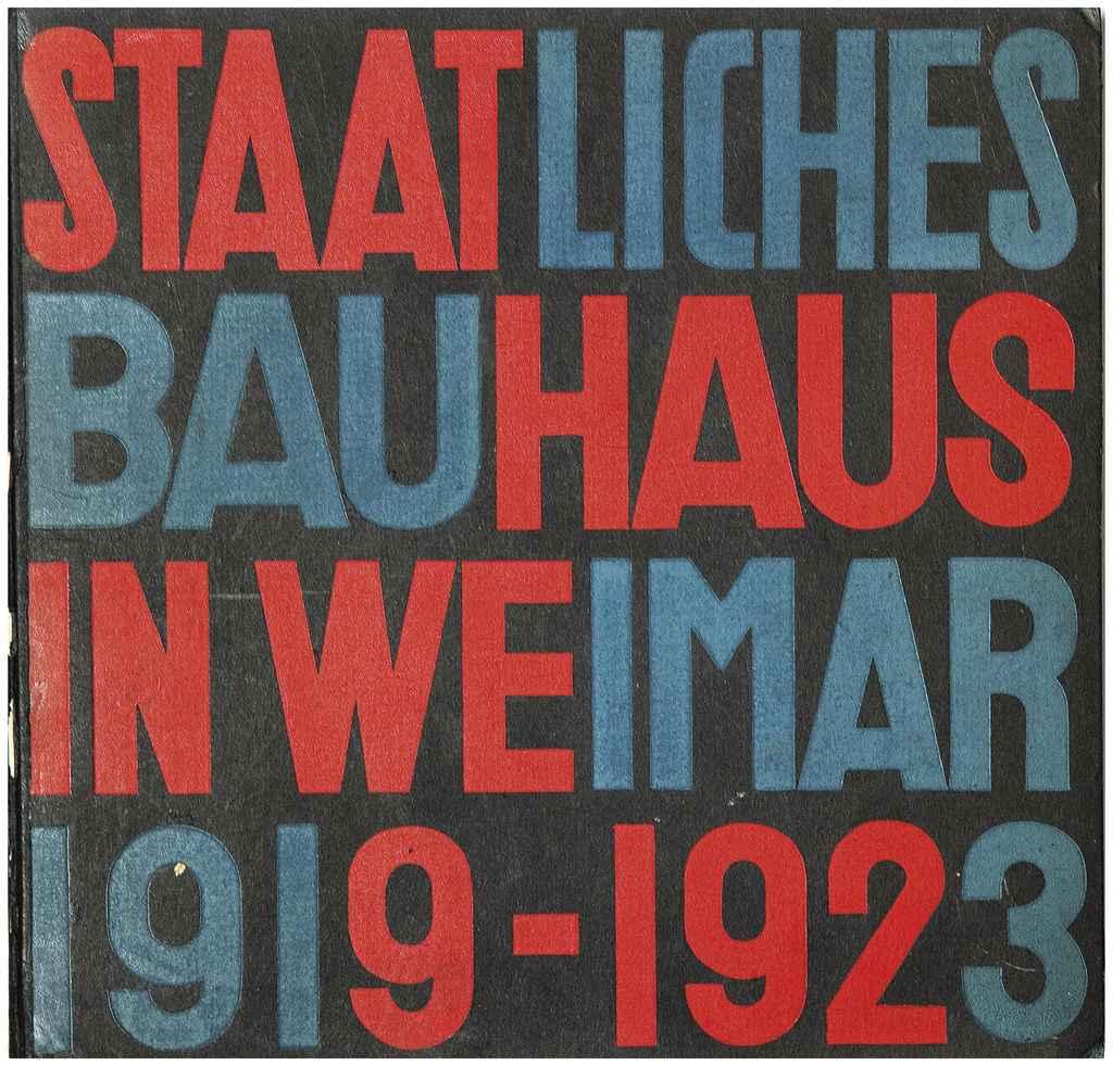Gropius Walter Diteur Staatliches Bauhaus Weimar 1919