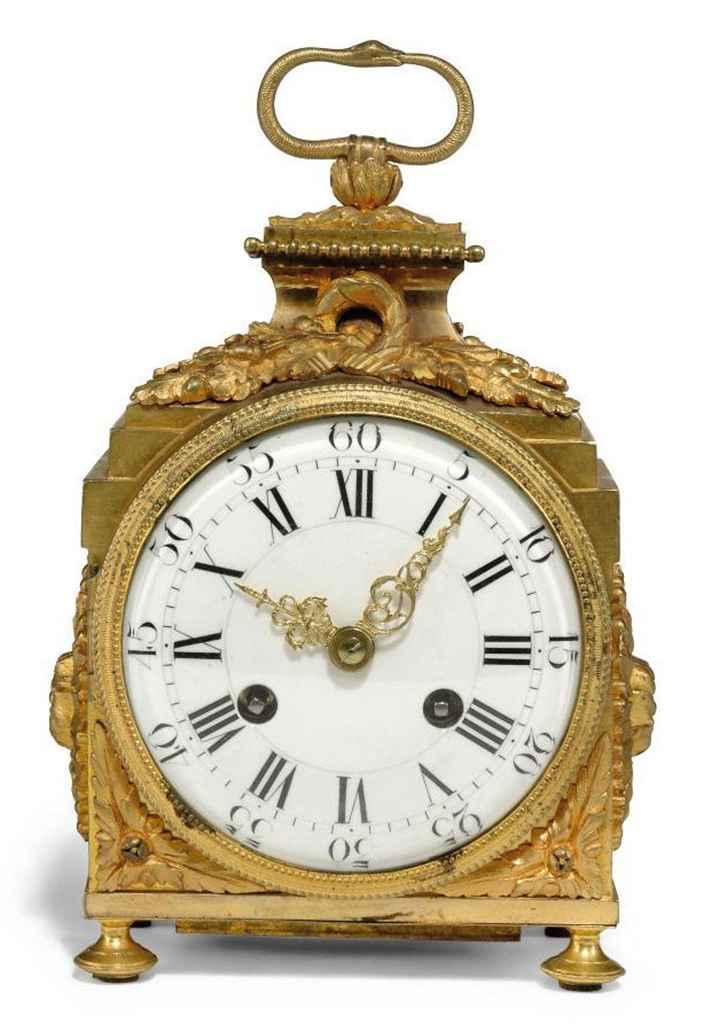 a louis xvi ormolu pendule d 39 officier the case late 18th century the movement 19th century. Black Bedroom Furniture Sets. Home Design Ideas