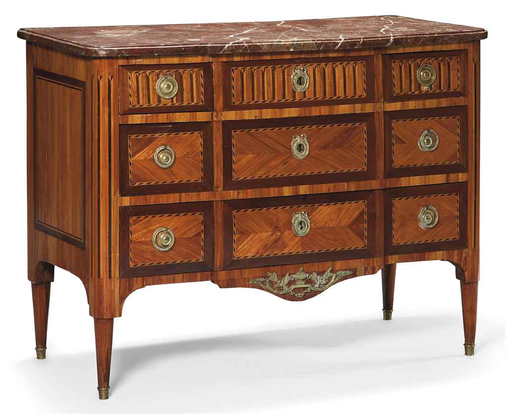 commode d 39 epoque louis xvi vers 1770 christie 39 s. Black Bedroom Furniture Sets. Home Design Ideas