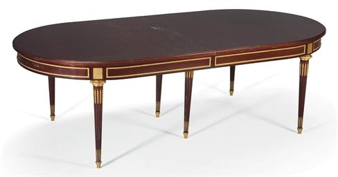 Table de salle a manger de style louis xvi xxeme siecle for Salle a manger louis xiii