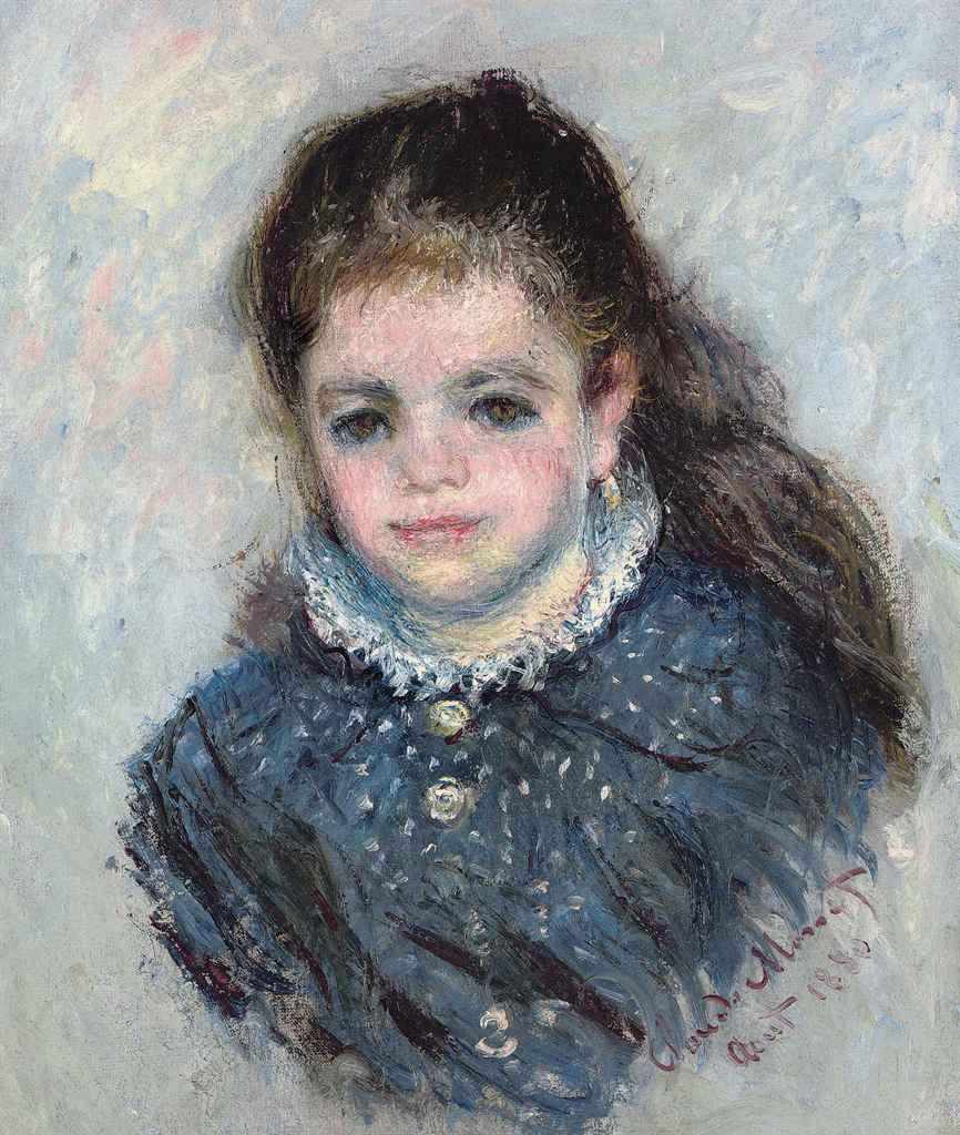 Portrait of Eugenie Graff (Madame Paul), 1882 - Claude