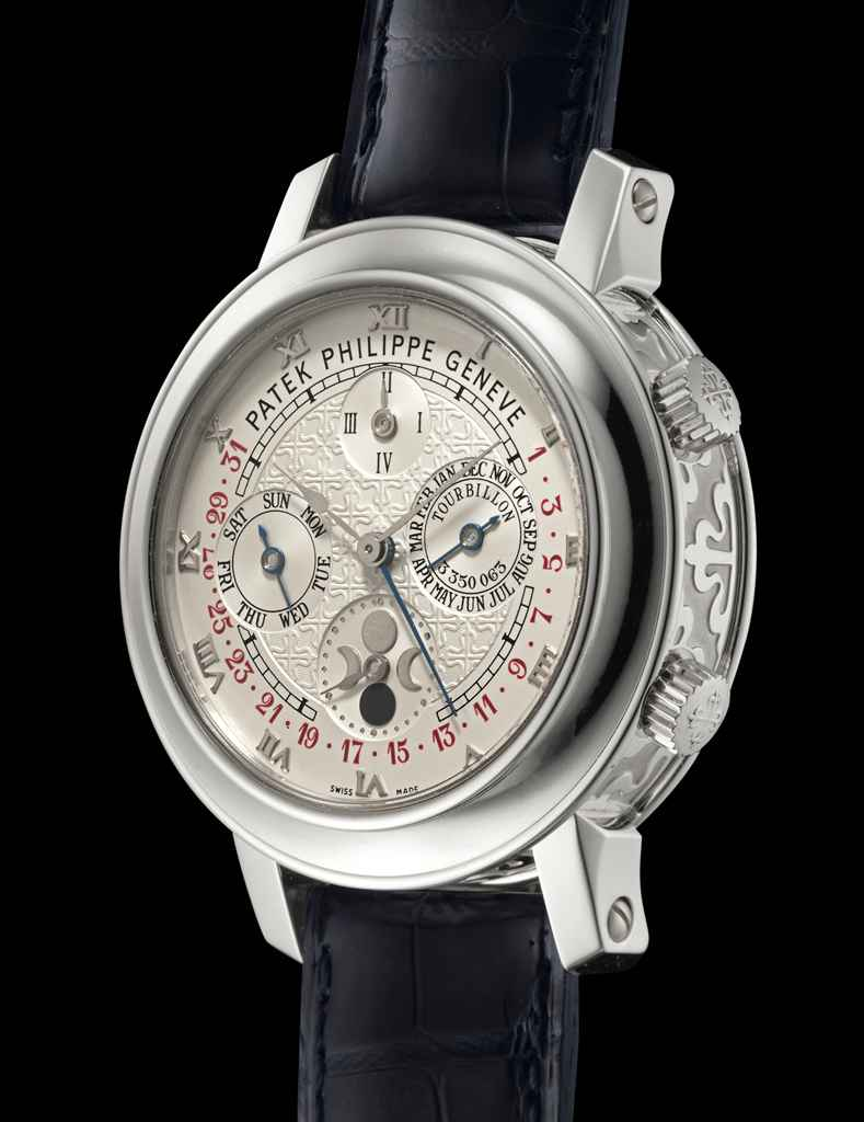 Patek philippe skymoon tourbillon ref 5002p highly important and extremely rare platinum for Patek philippe tourbillon