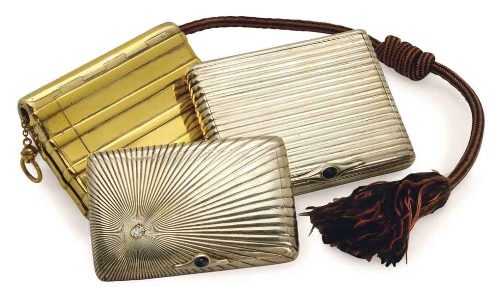 a french silver-gilt cigarette case and two continental silver cases v d5453644g.jpg ec3e198ac09fe