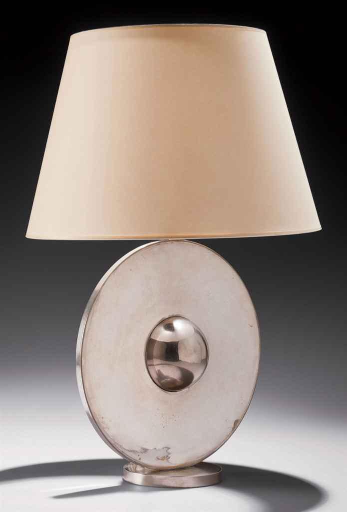 Travail fran ais lampe de table circulaire vers 1930 - Lampe de travail ...