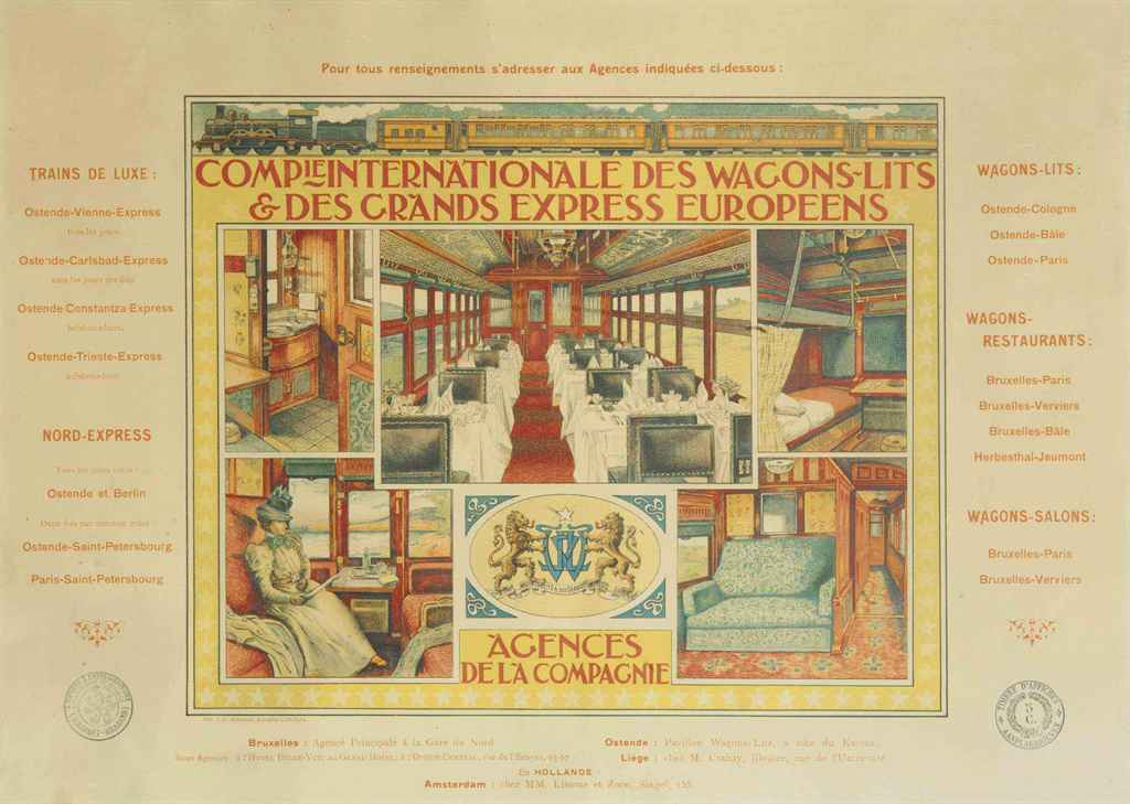 Anonyme compagnie internationale des wagons lits - Compagnie des wagons lits recrutement ...