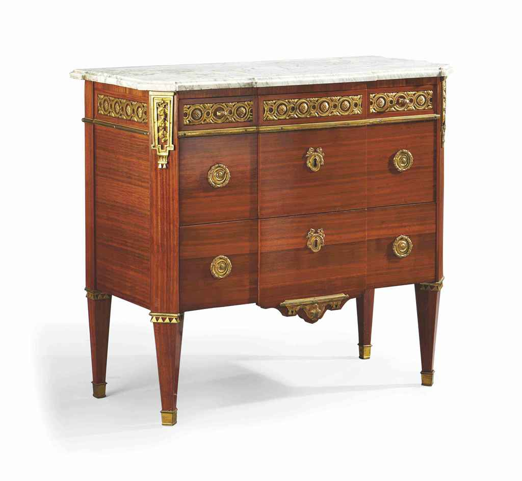 commode d 39 epoque louis xvi estampille de godefroy dester fin du xviiieme siecle christie 39 s. Black Bedroom Furniture Sets. Home Design Ideas