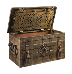 A German Iron Strong Box Late 17th Century Christie S