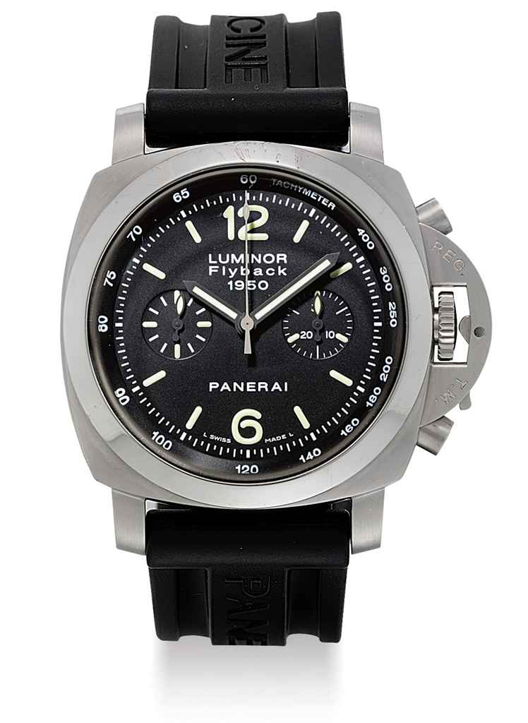 Panerai a stainless steel limited edition cushion shaped - Panerai dive watch ...