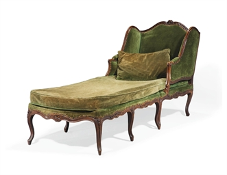 Chaise longue brisee d 39 epoque louis xv milieu du for Chaise xixeme siecle