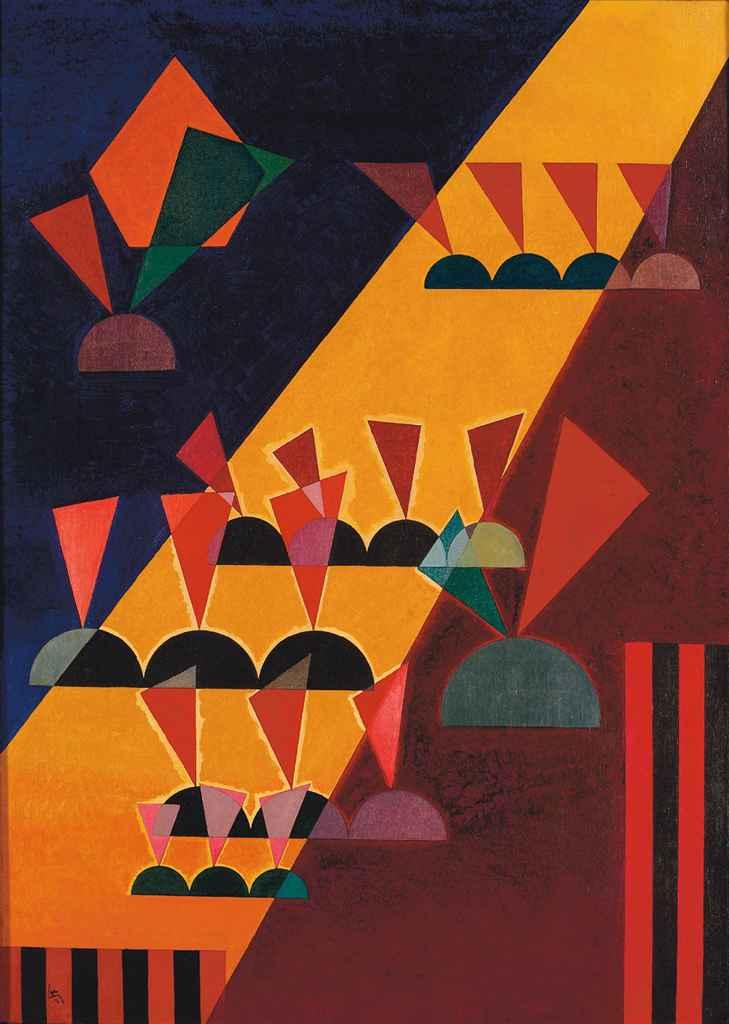 Wassily Kandinsky (1866-1944) , Thema: Spitz | Christie's