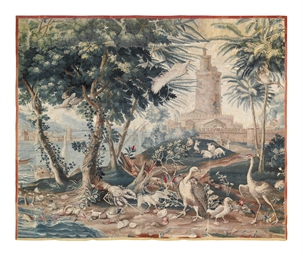 A louis xiv 39 ports de mer 39 tapestry beauvais late 17th early 18th century by philippe - Philippe campion ...