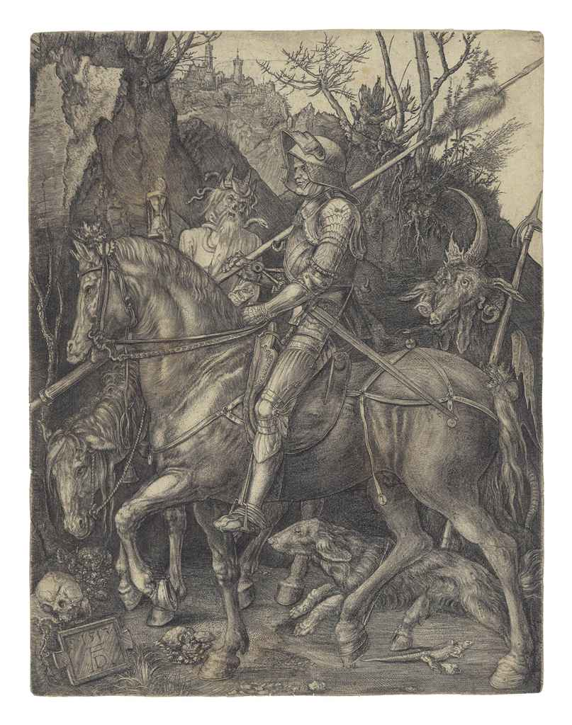 Albrecht duer s the knight death and