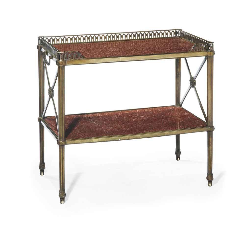 table desserte de style louis xvi xxeme siecle christie 39 s. Black Bedroom Furniture Sets. Home Design Ideas