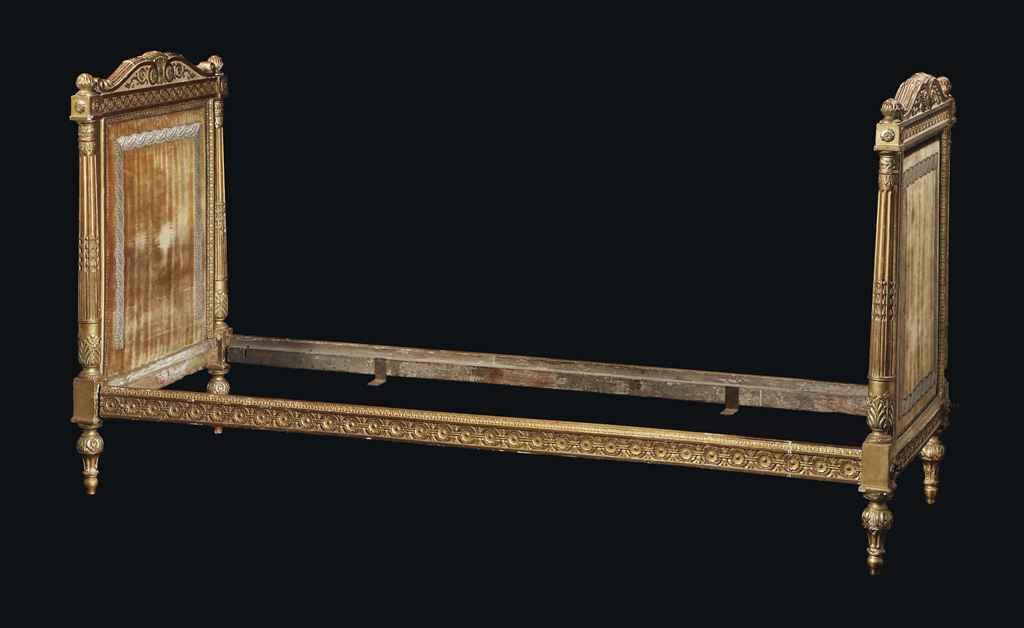 lit de repos de la fin de l 39 epoque louis xvi fin du xviiieme siecle christie 39 s. Black Bedroom Furniture Sets. Home Design Ideas