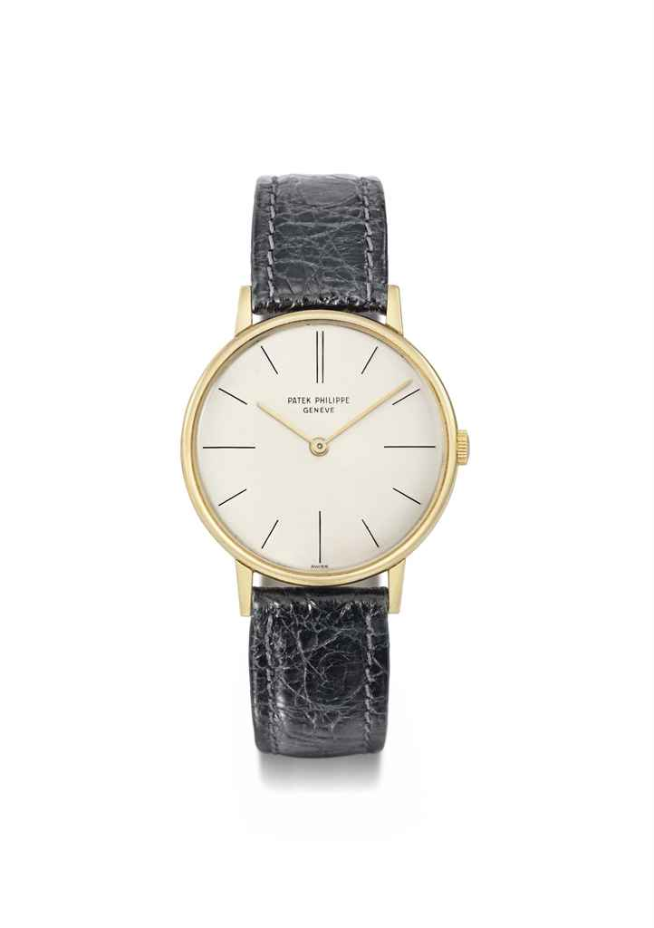 Patek philippe an 18k gold wristwatch signed patek philippe gen ve ref 2592 1 movement no for Patek philippe geneve