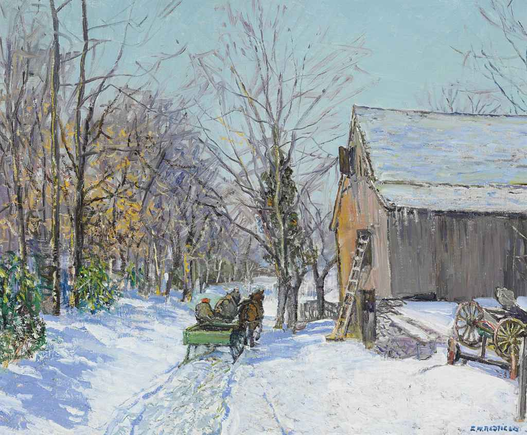 Edward Willis Redfield Paintings For Sale