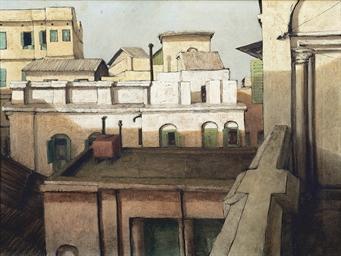 BIKASH BHATTACHARJEE (1940-2006) , Untitled | Christie's