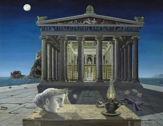 Paul delvaux 1897 1994 le temple christie 39 s for Paul delvaux le miroir