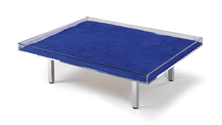 yves klein 1928 1962 table bleue christie 39 s. Black Bedroom Furniture Sets. Home Design Ideas